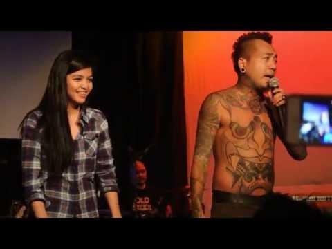 Jay meets Mai. Mai kisses Jay! Doo Bidoo - Kamikazee live in Perth, Australia