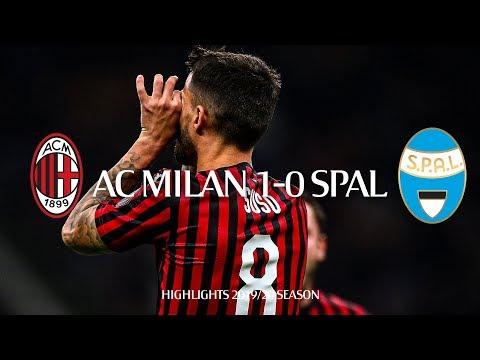 Highlights | AC Milan 1-0 SPAL | Matchday 10 Serie A TIM 2019/20