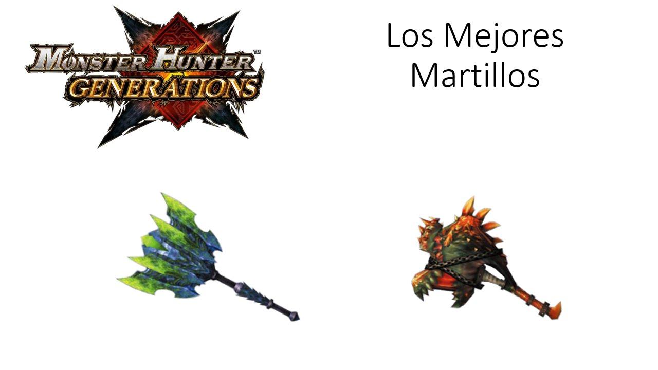 Monster Hunter Generations - Los Mejores Martillos [Español Latino ...