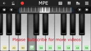 Dekha Ek Khwaab Silsila Simple Piano Tutorial Hind Song.mp3