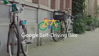 New invention Google Self-Driving Bike