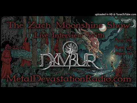 Dymbur - The Legend of Thraat - Interview 2019 - The Zach Moonshine Show