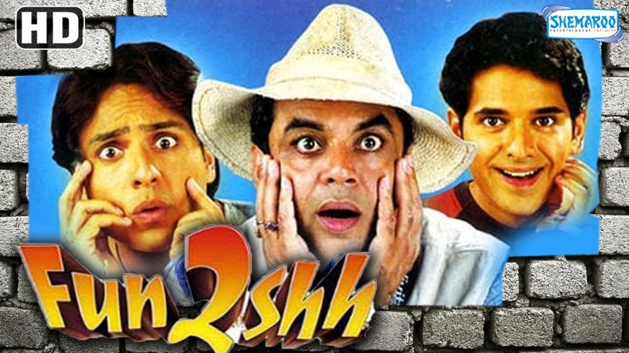 Download Fun2shh (2003) (HD & Eng Subs) - Paresh Rawal - Gulshan Grover - Raima Sen - Best Comedy Movie