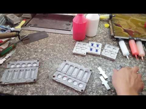 Soft PVC USB case making process