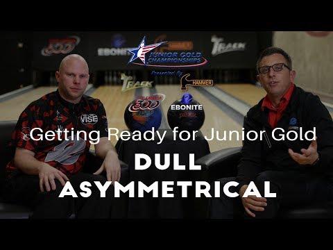 Junior Gold 365 | Dull Strong Asymmetric Bowling Balls
