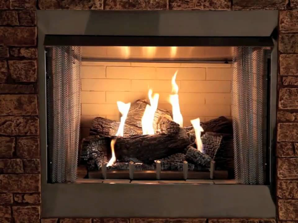 Carol Rose Coastal Collection Traditional Outdoor Fireplace Youtube