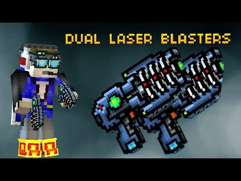 Pixel Gun 3D: Dual Laser Blasters [REVIEW] Legendary Weapon Gameplay!