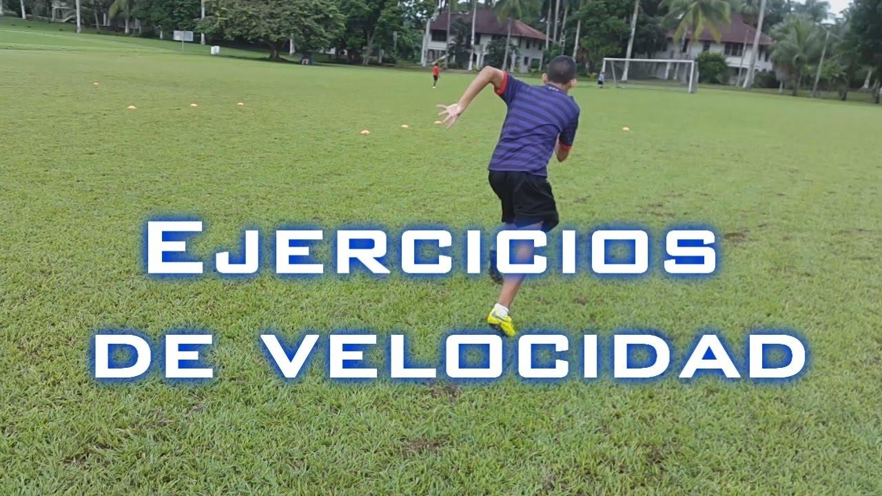 ejercicios para mejorar la velocidad en el futbol