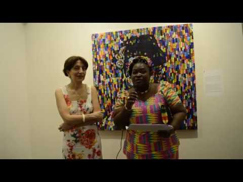 Ghanaian Artists Exhibition in Tbilisi, Georgia