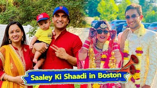 Saaley ki Shaadi in Boston | Vlog 18 | Lalit Shokeen Films