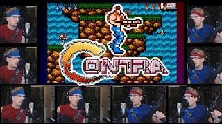 Contra (NES) - Acapella Speed Run - Full Soundtrack