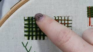 Battlement Stitch Tutorial