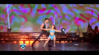 Showmatch 2012 - Hernán Piquín y Noelia Pompa brillaron en la salsa acrobática