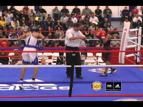 adidas National Boxing Tournament: Eric Agustin (Santa Maria Elite) vs. Jehovani Salazar (Coachella)