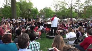 Shaker Hts HS Wind Ensemble/Symphonic Band- Parade of Charioteers- 5/7/2013