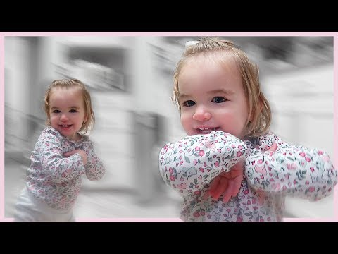 BABY'S ADORABLE VERSION OF THE CHICKEN DANCE!