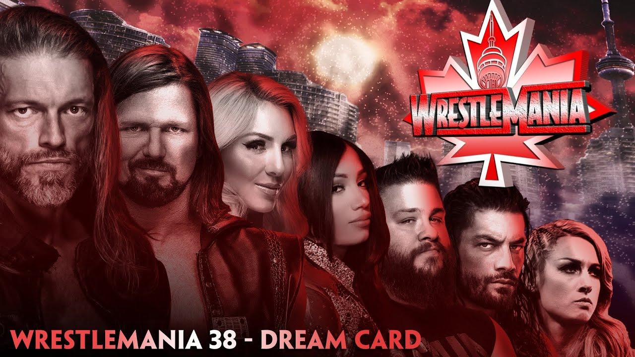 Download WWE WRESTLEMANIA 38 | DREAM MATCH CARD