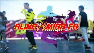 [HIP-HOP KIDS] ALINA vs. MIRA FA. | ЭНЕРГИЯ ТАНЦА 2k17
