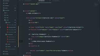 40 update file - Belajar Laravel 7.x