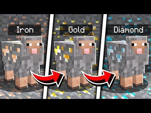 *SECRET* Minecraft PE Camo Trolling Mob Trick!