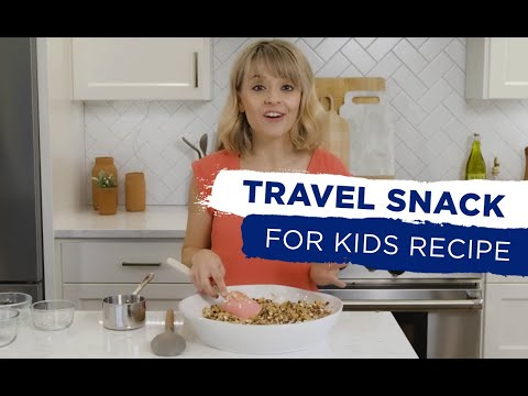 Kelsey Nixon\'s Perfect Carry-On Travel Snack for Kids - YouTube