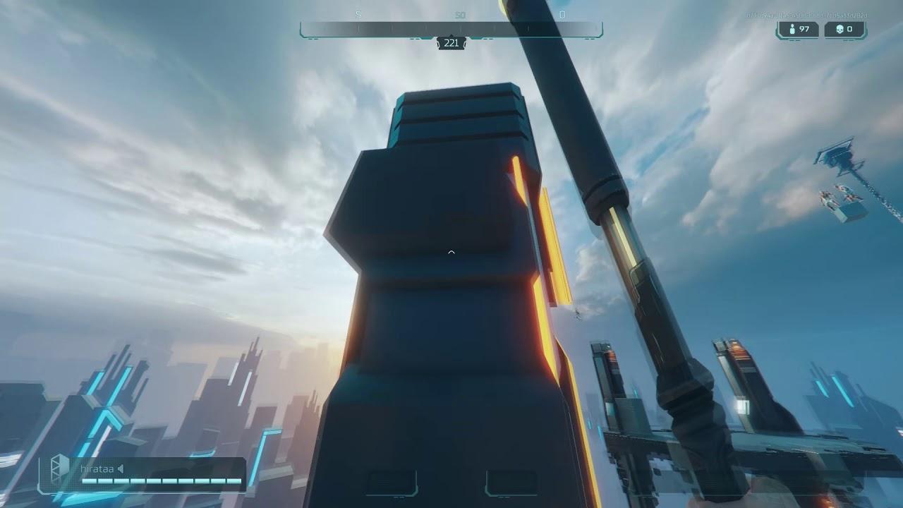 Como subir na maior torre do lobby de Hyper Scape. - YouTube