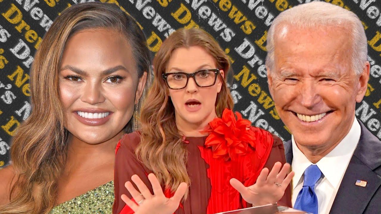 Why Chrissy Teigen Asked President Biden to Unfollow Her on Twitter | Drew's News