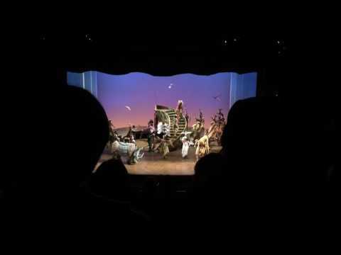 Ending of Lion King - NYC - Broadway