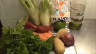 Овощной  Суп.Как Приготовить Овощной Суп с Фенхеля и Сельдерея.