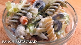 Ranch Pasta Salad - Recipe