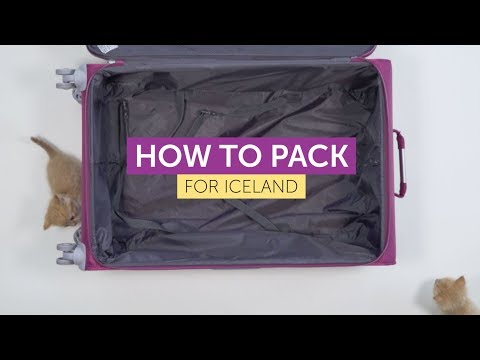 WOW air - How to pack for Iceland