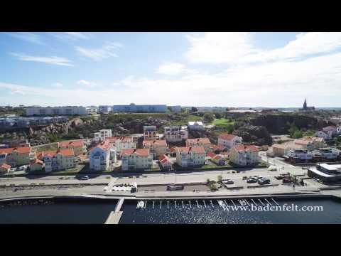 Flygfilm - Norra Hamnen i Lysekil - Sweden - Musik Arash, Foto Christian Badenfelt