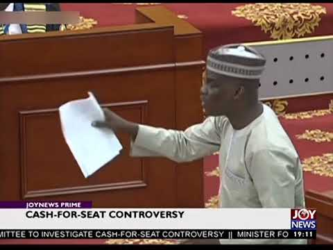 Funny moments at Ghana's Parliament in 2018.