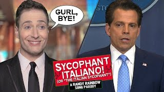 THE SYCOPHANT ITALIANO 👋🏻🇮🇹 - Randy Rainbow Song...
