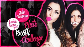 PHOTOBOOTH CHALLENGE || Юлия Пушман и Карина Каспарянц