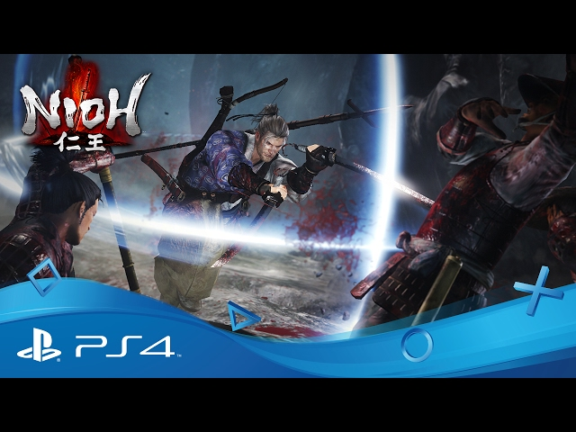 Nioh | Defy Death - Launch Trailer | PS4