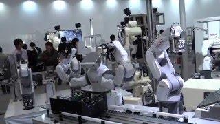 Япония. 1) Выставка индустриальных роботов iREX2015  в Tokyo Big Sight