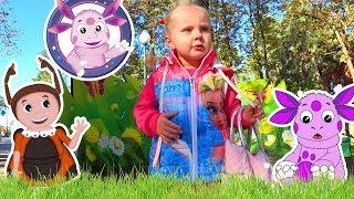 Історія, як у Ніколь загубилася іграшка в парку на дитячому майданчику