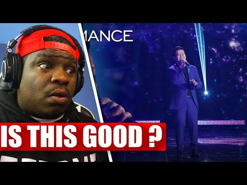 Marcelito Pomoy Sings Beauty And The Beast With DUAL VOICES! - America's Got Talent - REACTION
