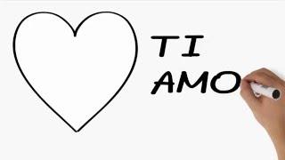 Messaggio - Dichiarazione d'amore con mu...