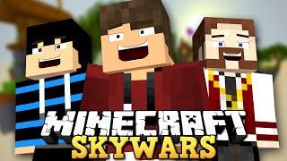 BATALHA ÉPICA! 1 VENCEDOR! - SKYWARS DOS YOUTUBERS - Minecraft