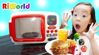 Play with Magic Microwave! RIWORLD