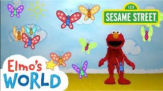 Sesame Street: Butterflies | Elmo's World