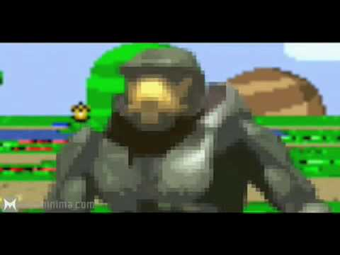 Halo vs Super Mario Kart: Machinma