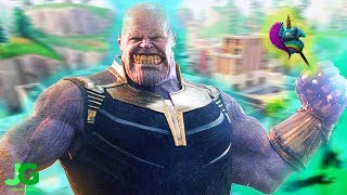 How To Be THANOS In FORTNITE! Unlock Avengers Skins?