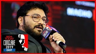 Face Of BJP In West Bengal; Babul Supriyo Exclusive At #ConclaveEast19