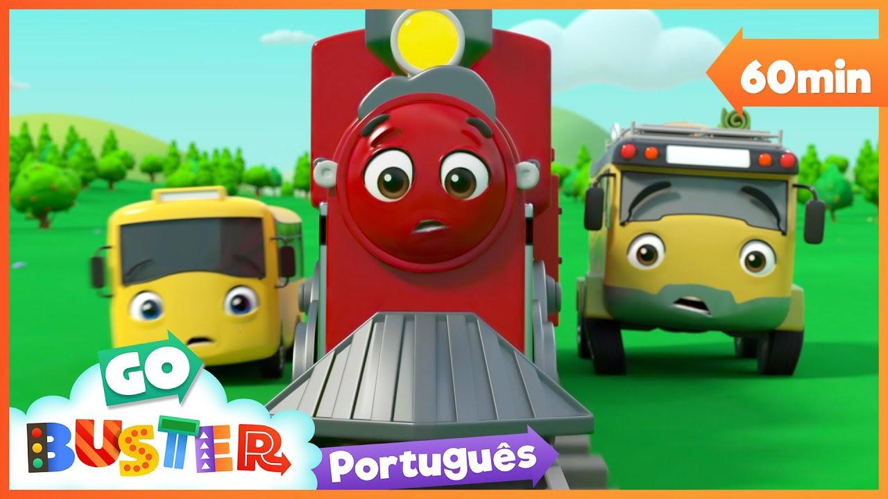 Download Buster salva o trem desgovernado   Canções Infantis   Desenhos Animados   Buster em Português
