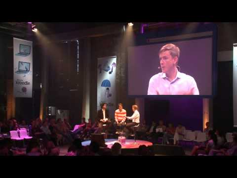 Kroodle Launch: Interview Chris Hughes over Facebook