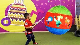 День Рожденья. Роме 4 года! Детский развлекательный центр гости Фиксики Нолик Симка ★ Kids Roma Show