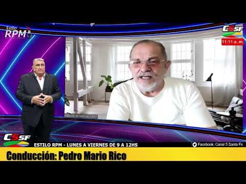 Antonio Rico: En mayo vamos a tener la misma cantidad de contagios que ahora